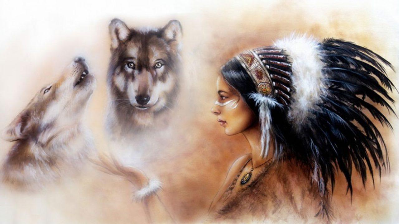 Dos Lobos, cuento cherokee